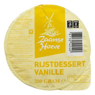 Budget Huismerk Rijstdessert vanille