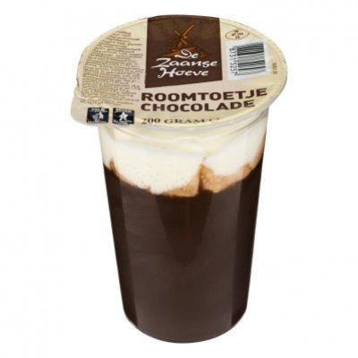 Budget Huismerk Roomtoetje chocolade