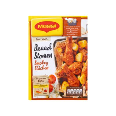 Maggi Braadstomen Smokey Chicken Zakje