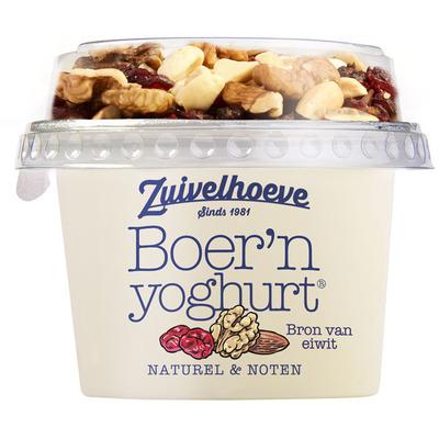 Zuivelhoeve Boer'n yoghurt noten
