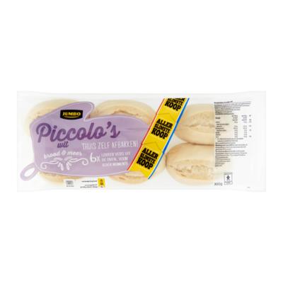 Huismerk Piccolo's Wit Allerslimste Koop 6 Stuks