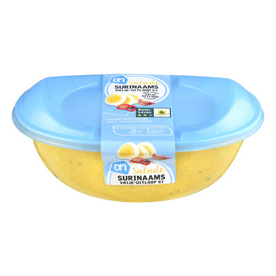 Huismerk Surinaamse vrije uitloop ei- salade