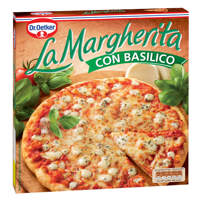 Dr. Oetker La Margherita pizza con basilico