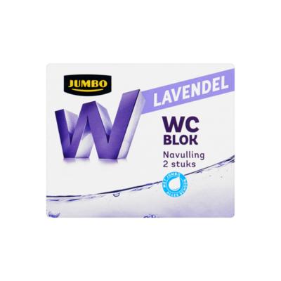 Huismerk WC Blok Lavendel Navulling