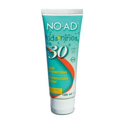 No-Ad Kids Zonnebrand Sun Protection Factor 30
