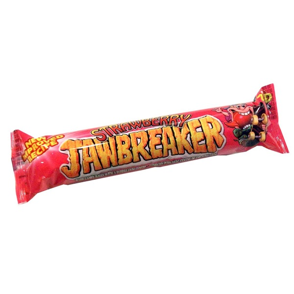 Zed Candy Jawbreakers Snoep Strawberry