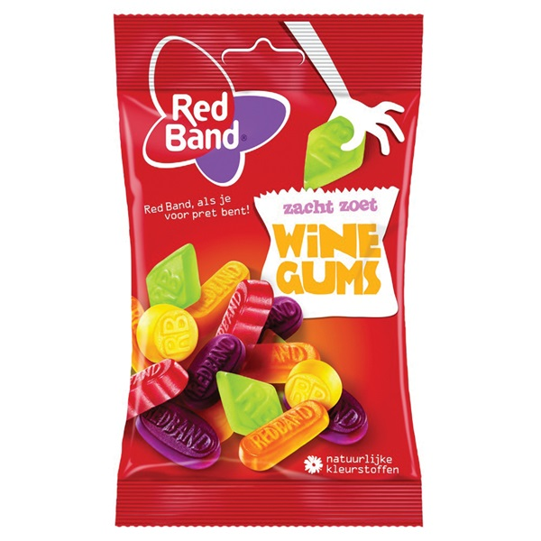 Red Band Snoep Winegums