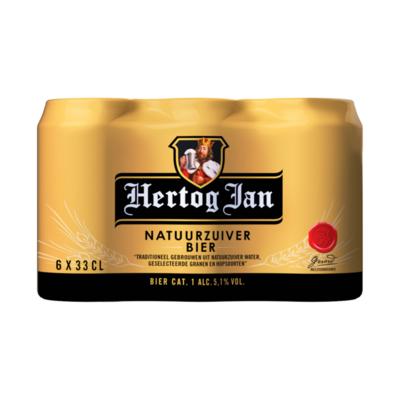 Hertog Jan Traditioneel Natuurzuiver Bier Blikken