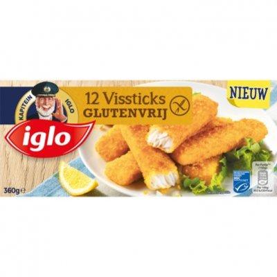 Iglo Vissticks glutenvrij
