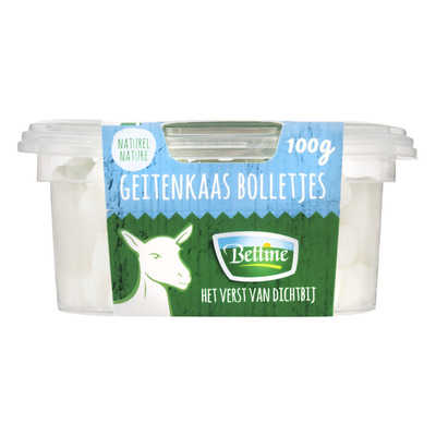 Bettine Salade bolletjes geitenkaas naturel
