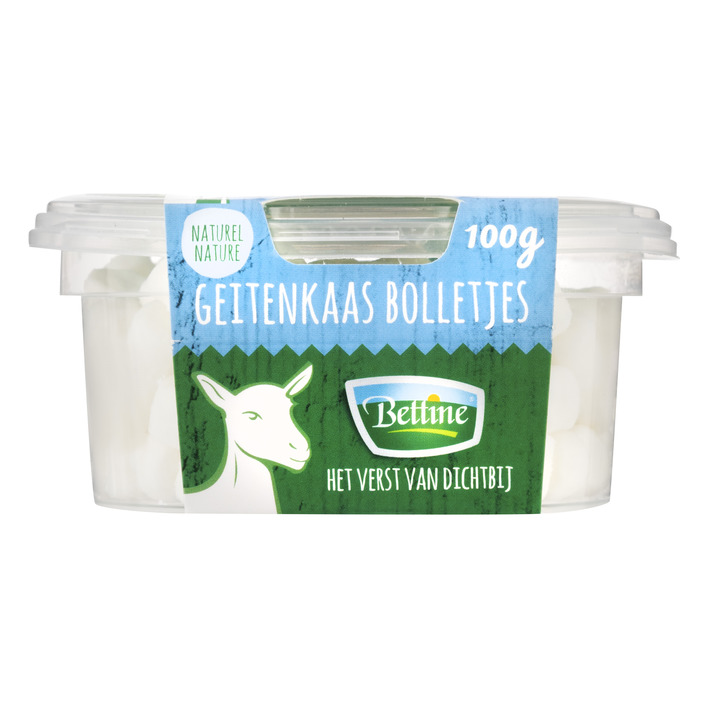 Bettine Salade bolletjes geitenkaas naturel