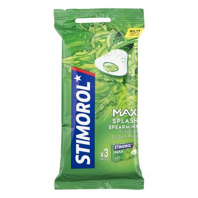 Stimorol Kauwgom max splash spearmint