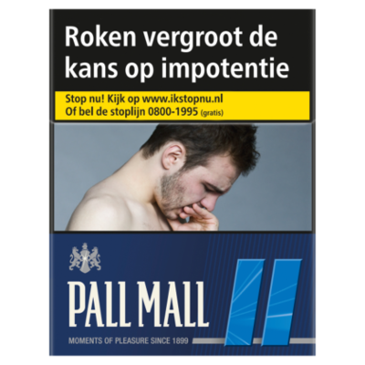 Pall Mall Sigaretten blue box
