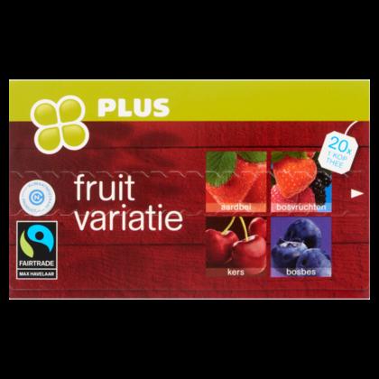Huismerk Thee Fruitvariatie Rood 2gr Fairtrade