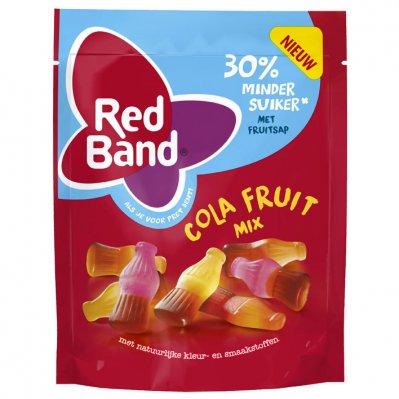 Red Band Cola fruit winegum 30% minder suiker