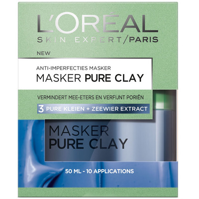 L'Oréal Dermo expertise pure clay anti-blemish