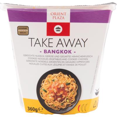 Orient plaza Bangkok noedels kip sweet chili
