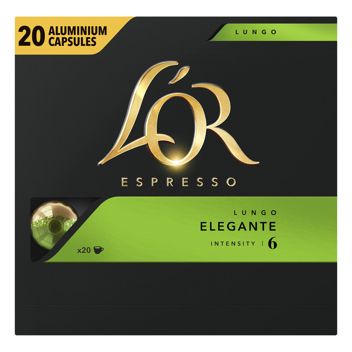 L'OR Espresso lungo elegante koffiecups