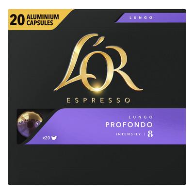 L'OR Espresso lungo profondo koffiecups