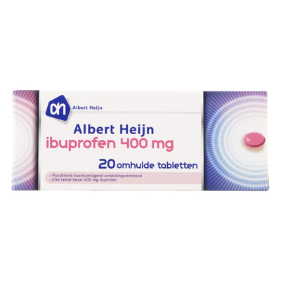 Huismerk Ibuprofen 400 mg