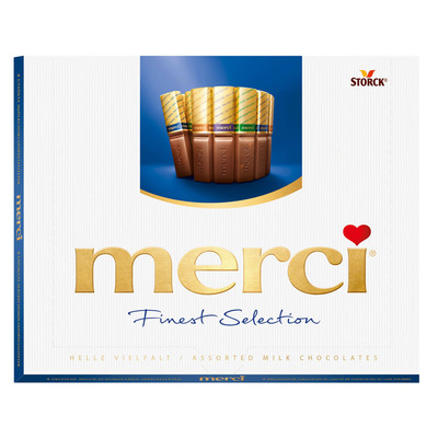Merci Finest selection melk