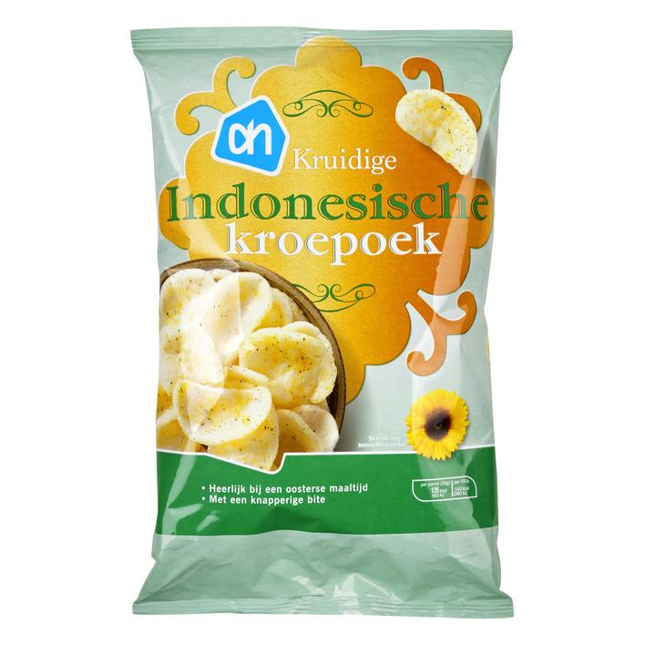 Huismerk Indonesische kroepoek mild gekruid