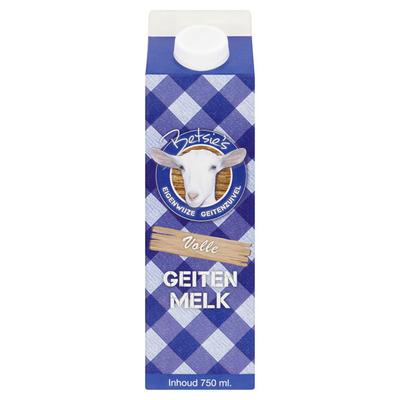 Betsie's Volle geitenmelk