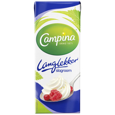 Campina Langlekker slagroom