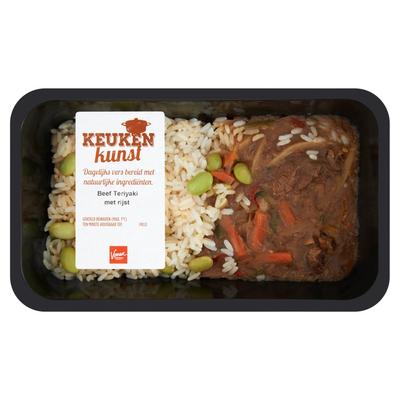 Keukenkunst Beef Teriyaki met Rijst 450 g