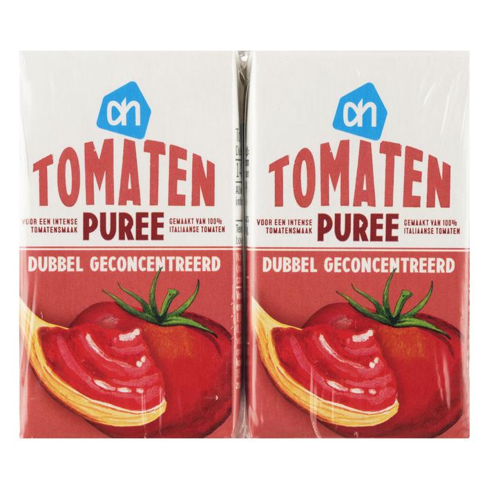 Huismerk Tomatenpuree 4-pack