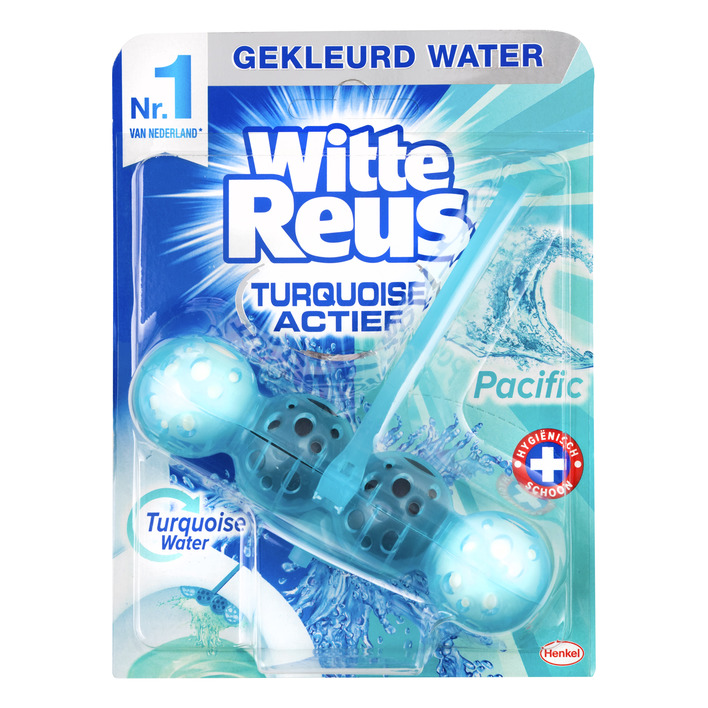 Witte Reus Turquoise actief pacific
