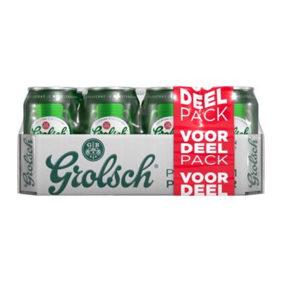Grolsch Premium Pilsner Blikken