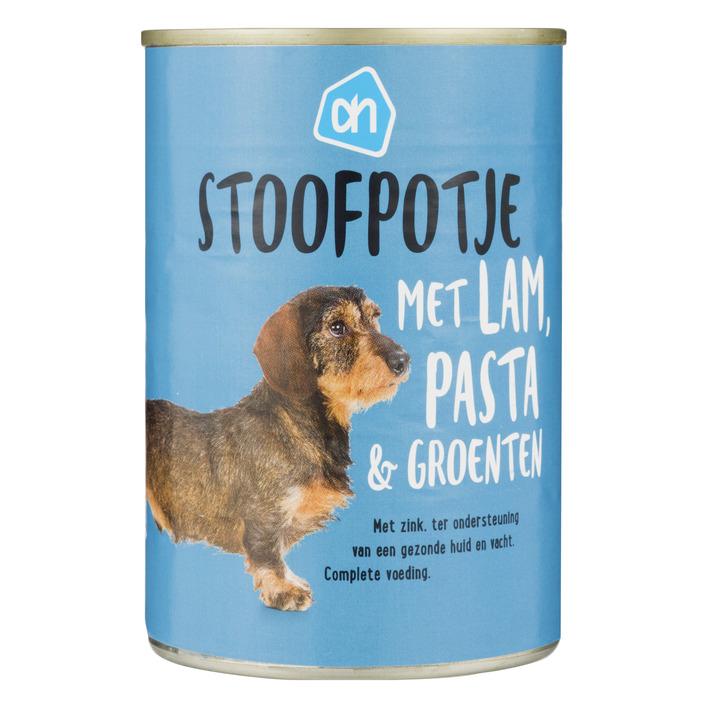 Huismerk Blik stoof lam-pasta-groente