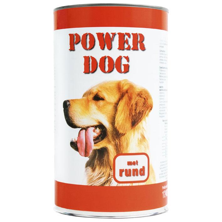 Powerdog Blik brok rund saus