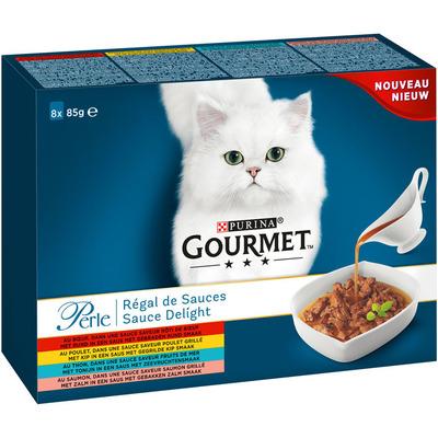 Gourmet Perle sauce delight 8-pack o.a. met rund