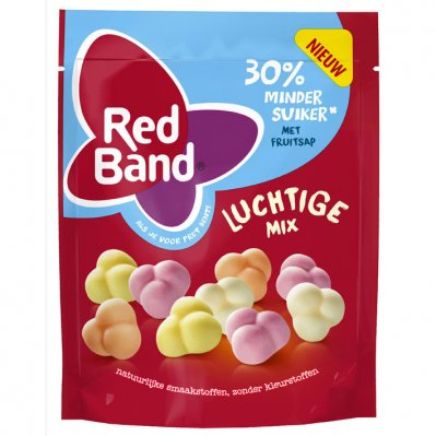 Red Band Luchtige mix 30% minder suiker