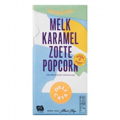 Huismerk Reep melk-karamel-zoete popcorn