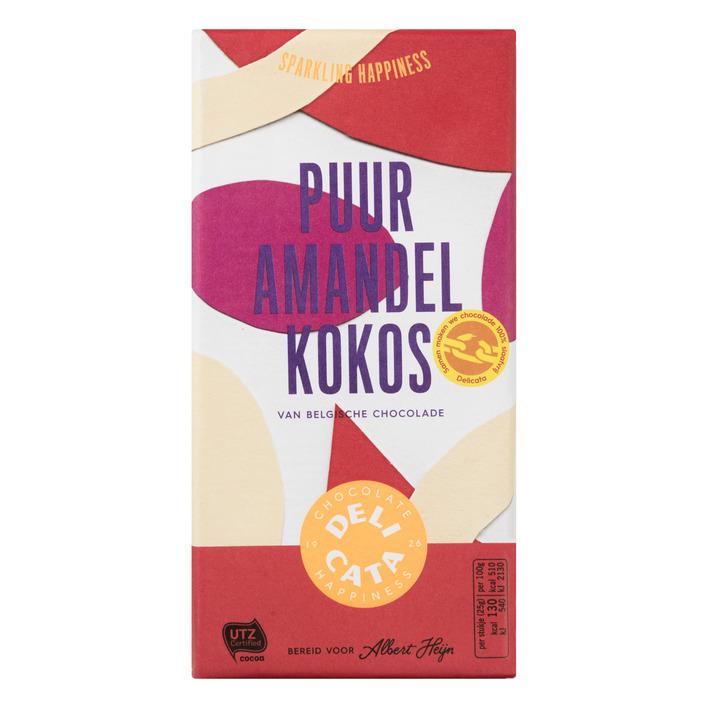 Huismerk Reep puur-amandel-kokos