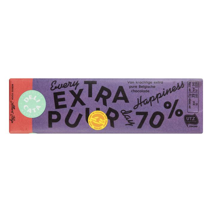 Huismerk Reep extra puur 70%