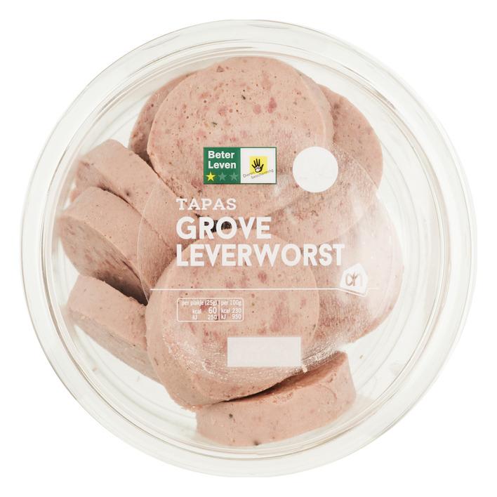 Huismerk Grove leverworst