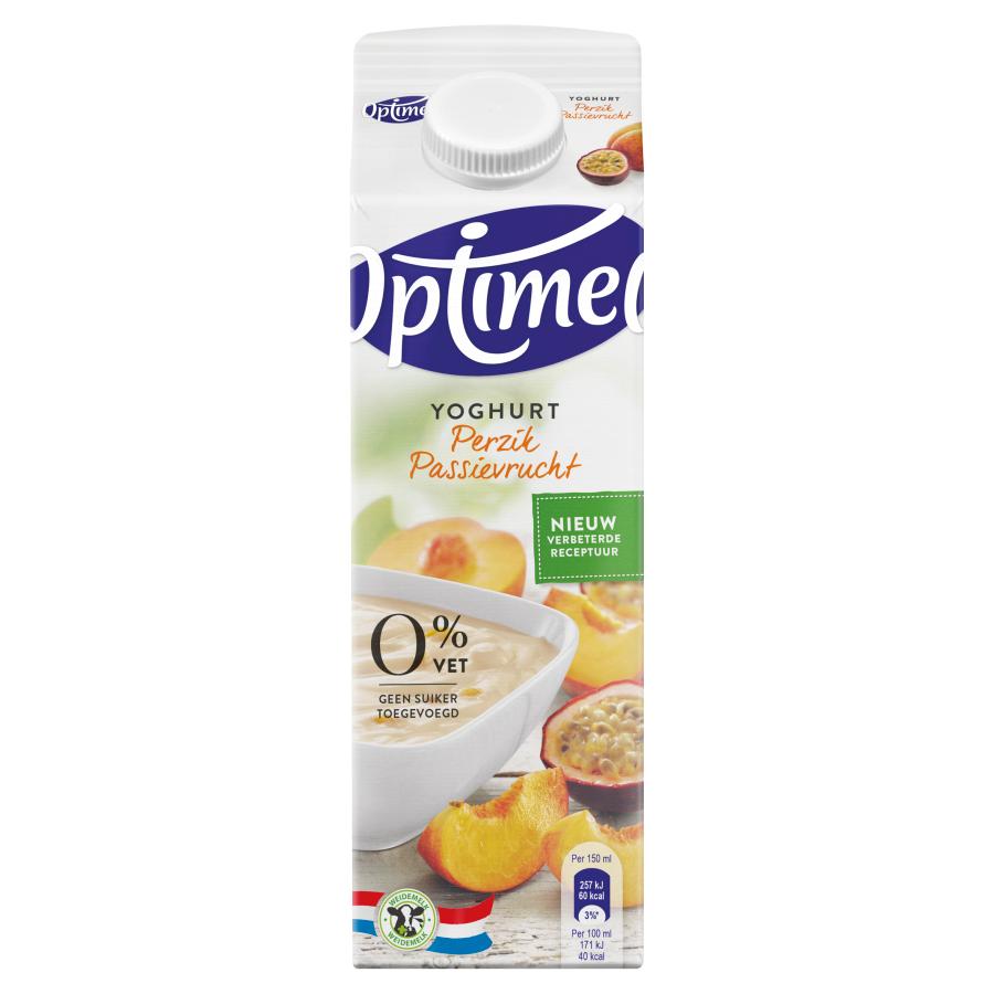 Optimel Yoghurt perzik maracuja
