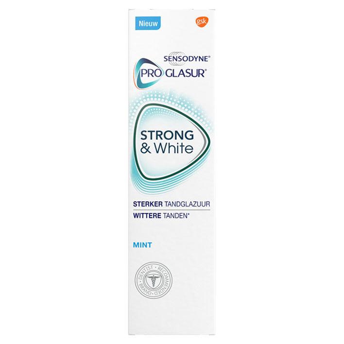 Sensodyne Proglasur Strong & white tandpasta