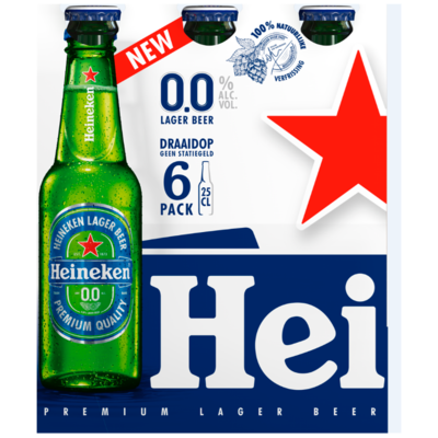 Heineken Pilsener Twist-off 0.0%