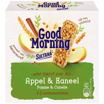 Sultana Goodmorning appel-kaneel