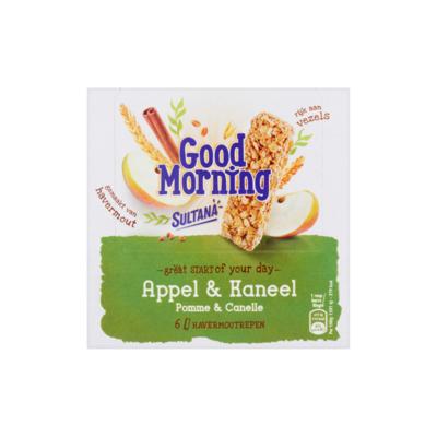 Sultana Good Morning Appel & Kaneel 6 Stuks
