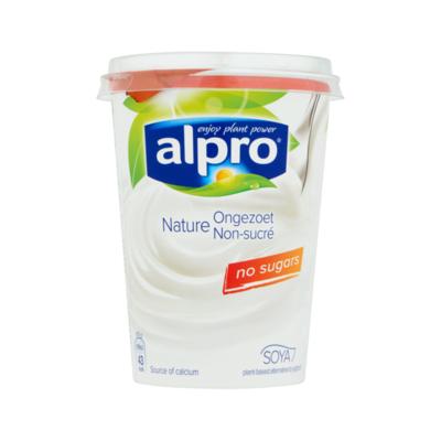 Alpro Plantaardige Variatie op Yoghurt Naturel Ongezoet
