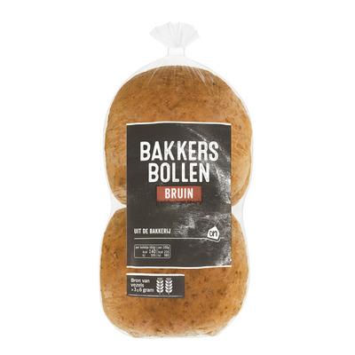 Huismerk Bakkersbollen bruin