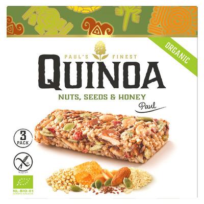 Paul's Quinoa Bars nuts, seeds & honey