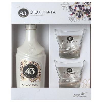 Licor 43 Orochata + 2 glazen