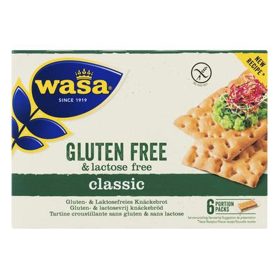Wasa glutenvrij en lactosevrij